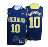 Camiseta NCAA Michigan State Spartans Tim Hardaway Jr. Azul