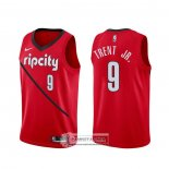 Camiseta Portland Trail Blazers Gary Trent Jr. Earned Rojo