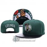 Gorra Celtics Leather Verde