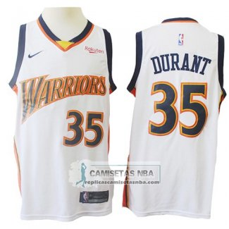 Camiseta Golden State Warriors Kevin Durant Mitchell & Ness 2009