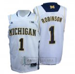 Camiseta NCAA Michigan State Spartans Glenn Robinson Blanco
