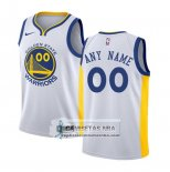 Camiseta Nino Golden State Warriors Personalizada 2017-18 Blanco