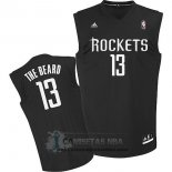 Camiseta Apodo Rockets The Beard Negro