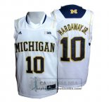 Camiseta NCAA Michigan State Spartans Tim Hardaway Jr. Blanco