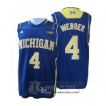Camiseta NCAA Michigan State Spartans Michigan Wolverines Azul