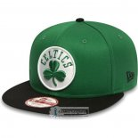 Gorra Boston Celtics Negro Verde