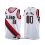 Camiseta Portland Trail Blazers Carmelo Anthony Association 2019-20 Blanco