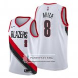 Camiseta Portland Trail Blazers Trevor Ariza Association 2020 Blanco