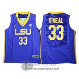 Camiseta NCAA LSU Tigers O'Neal Purpura