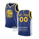 Camiseta Nino Golden State Warriors Personalizada 2017-18 Azul
