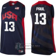 Camiseta USA 2012 Paul Negro