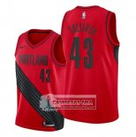 Camiseta Portland Trail Blazers Anthony Tolliver Statement Rojo