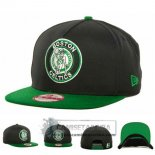 Gorra Celtics New Era Fifty Negro Verde