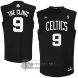 Camiseta Apodo Celtics The Clinic Negro