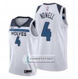 Camiseta Minnesota Timberwolves Jaylen Nowell Association Blanco