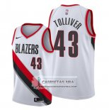 Camiseta Portland Trail Blazers Anthony Tolliver Association Blanco