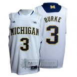 Camiseta NCAA Michigan State Spartans Trey Burke Blanco
