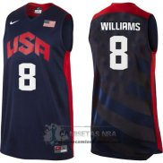 Camiseta USA 2012 Williams Negro
