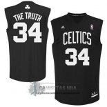 Camiseta Apodo Celtics The Truth Negro