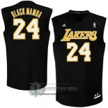 Camiseta Apodo Lakers Black Mamba Negro