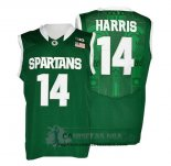Camiseta NCAA Michigan State Spartans Gary Harris Verde