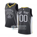 Camiseta Nino Golden State Warriors Personalizada 2017-18 Negro