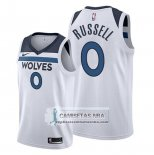 Camiseta Minnesota Timberwolves D'angelo Russell Association 2019-20 Blanco