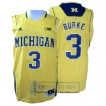 Camiseta NCAA Michigan State Spartans Trey Burke Amarillo