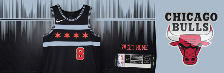 Camisetas NBA Chicago Bulls replicas tienda online