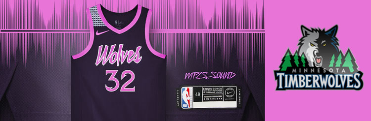 Camisetas NBA Minnesota Timberwolves replicas tienda online