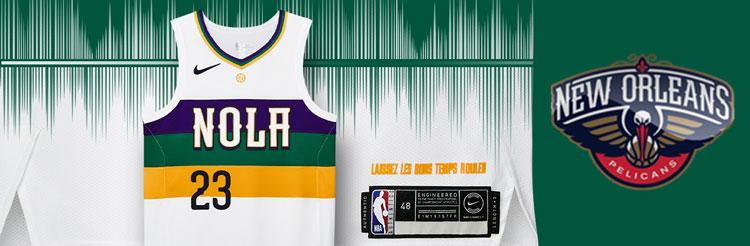 Camisetas NBA New Orleans Pelicans replicas tienda online