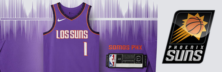 Camisetas NBA Phoenix Suns replicas tienda online