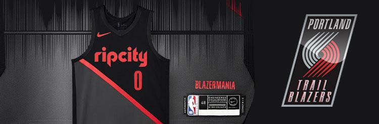 Camisetas NBA Portland Trail Blazers replicas tienda online