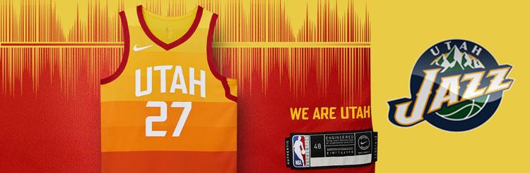 Camisetas NBA Utah Jazz replicas tienda online