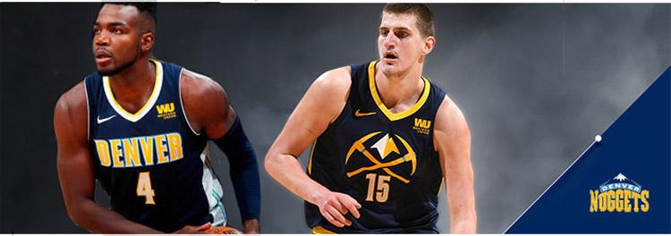 Camisetas NBA Denver Nuggets replicas tienda online