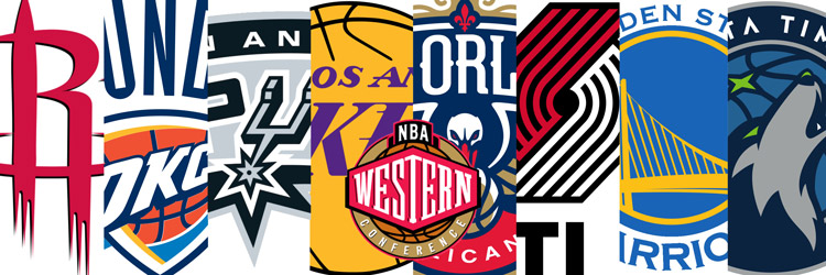 Camisetas NBA Western replicas