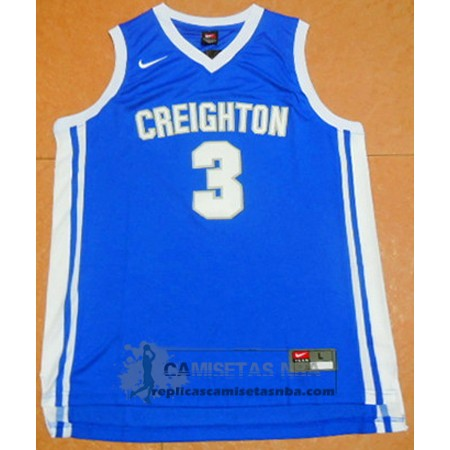 Camiseta NCAA Creighton Bluejays Doug McDermott Azul