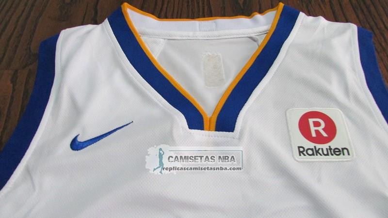 9d68e43176edd Camisetas NBA Autentico Nino Warriors Curry 2017-18 Blanco replicas ...