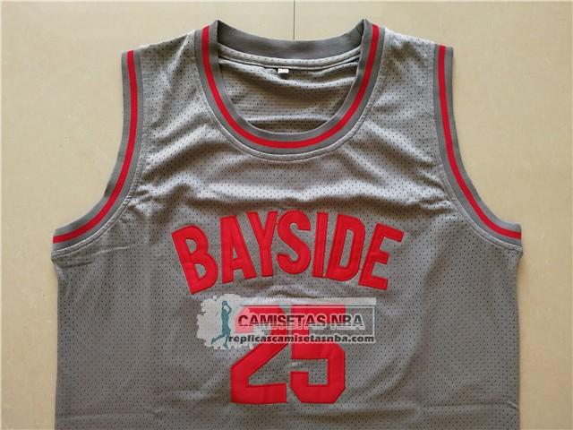 Camisetas NBA Pelicula Bayside Morris Gris replicas tienda online