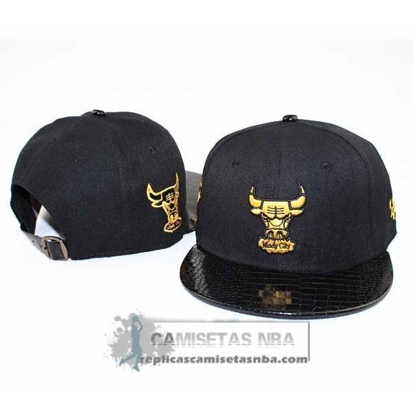 2c4e2dd362564 Camisetas NBA Gorra Bulls New Era Fifty Negro Oro replicas tienda online