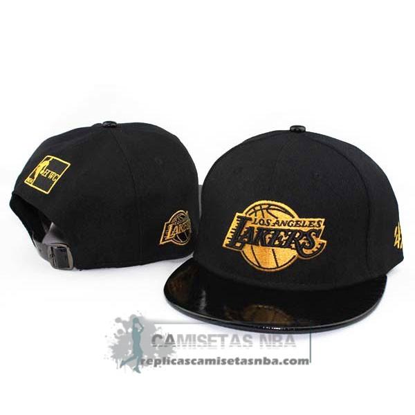 Camisetas NBA Gorra Lakers New Era Fifty Negro Oro replicas tienda ... eb7b24f0e16