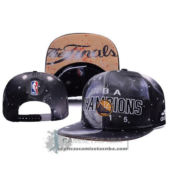 Camisetas NBA Gorra Warriors Champions Negro replicas tienda online 9abe47ccd56