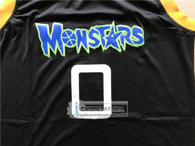 Camiseta Pelicula Monstars Alien Negro