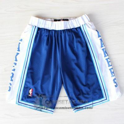 Camisetas Nba Pantalone Retro Lakers Azul Replicas Tienda Online
