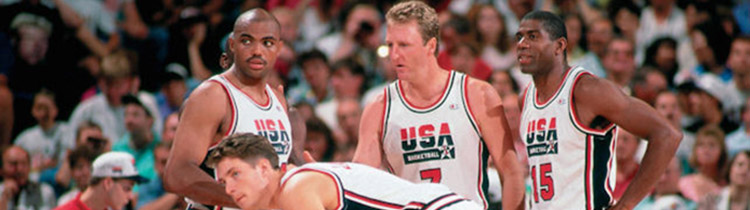 Camisetas NBA USA 1992 replicas tienda online