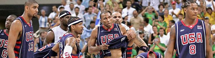 Camisetas NBA USA 2004 replicas tienda online