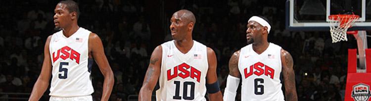 Camisetas NBA USA 2012 replicas tienda online