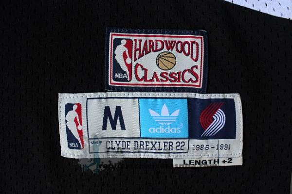 Camisetas NBA Retro Blazers Drexler Negro replicas tienda online 449d8e24363