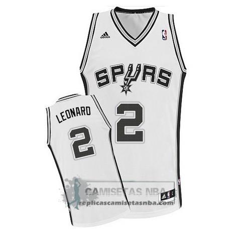 82d2db41e Camisetas NBA Spurs Leonaro Blanco replicas tienda online