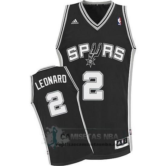 40ff6161f Camisetas NBA Spurs Leonaro Negro replicas tienda online